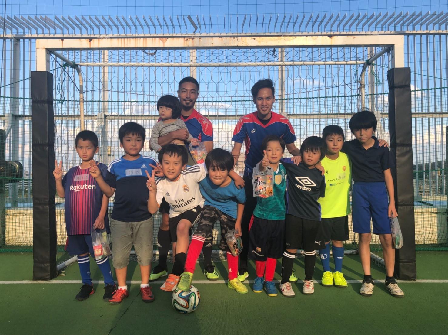 ホームテック(株)主催 北海道復興支援チャリティーサッカー教室 in聖蹟桜ヶ丘