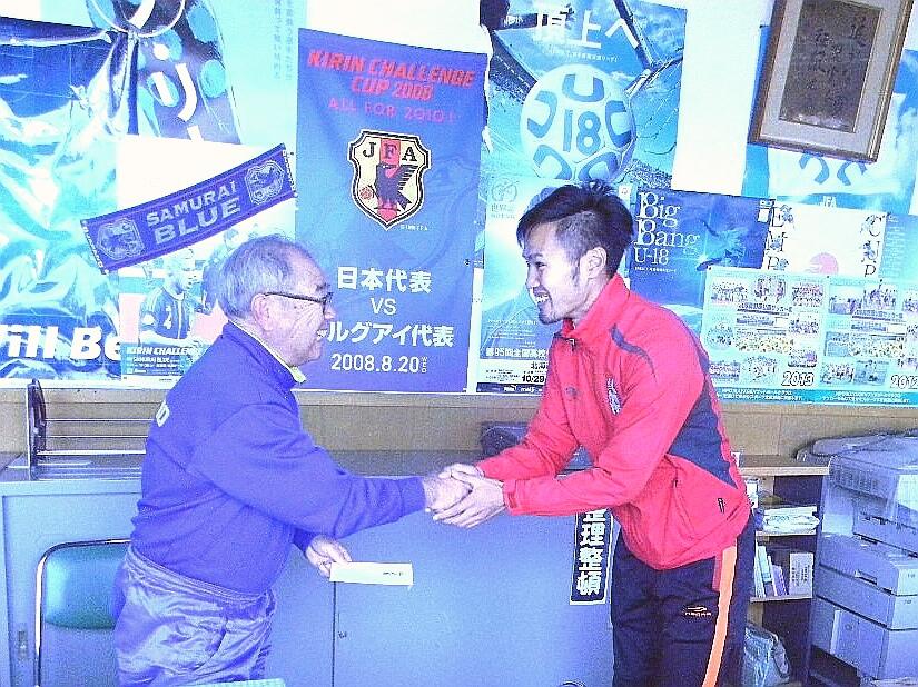 北海道胆振東部地震 復興支援活動のご報告 ~海外組サッカー選手だからこそできること~