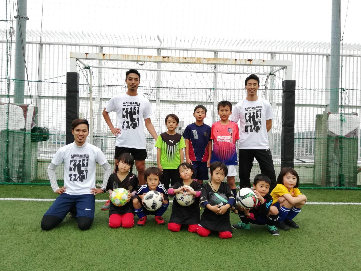 ホームテック(株)主催 サッカー教室を開催しました