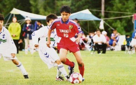 『山の手サッカー少年団』という自分の原点