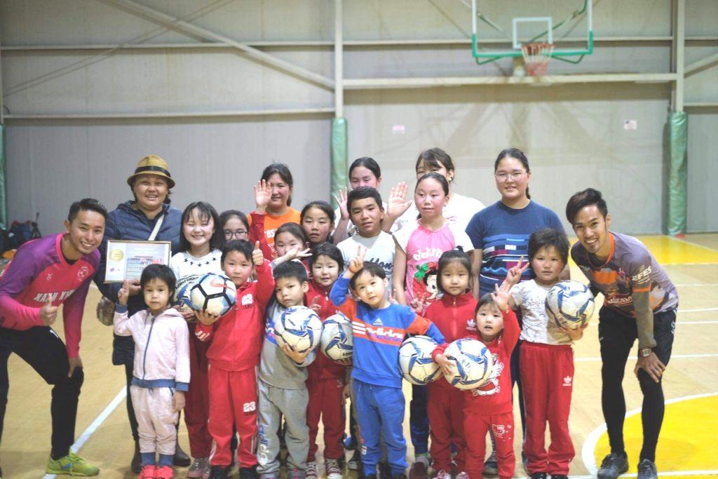 モンゴル・孤児施設の子供向けサッカーイベント開催!
